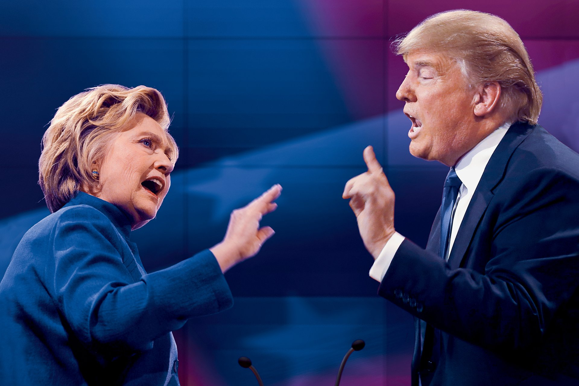 Tokoh Pada Pemilu Presiden AS Ke – 45